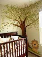 Baum An Wand Malen Vorlagen Süß Niedliche Babyzimmer ...
