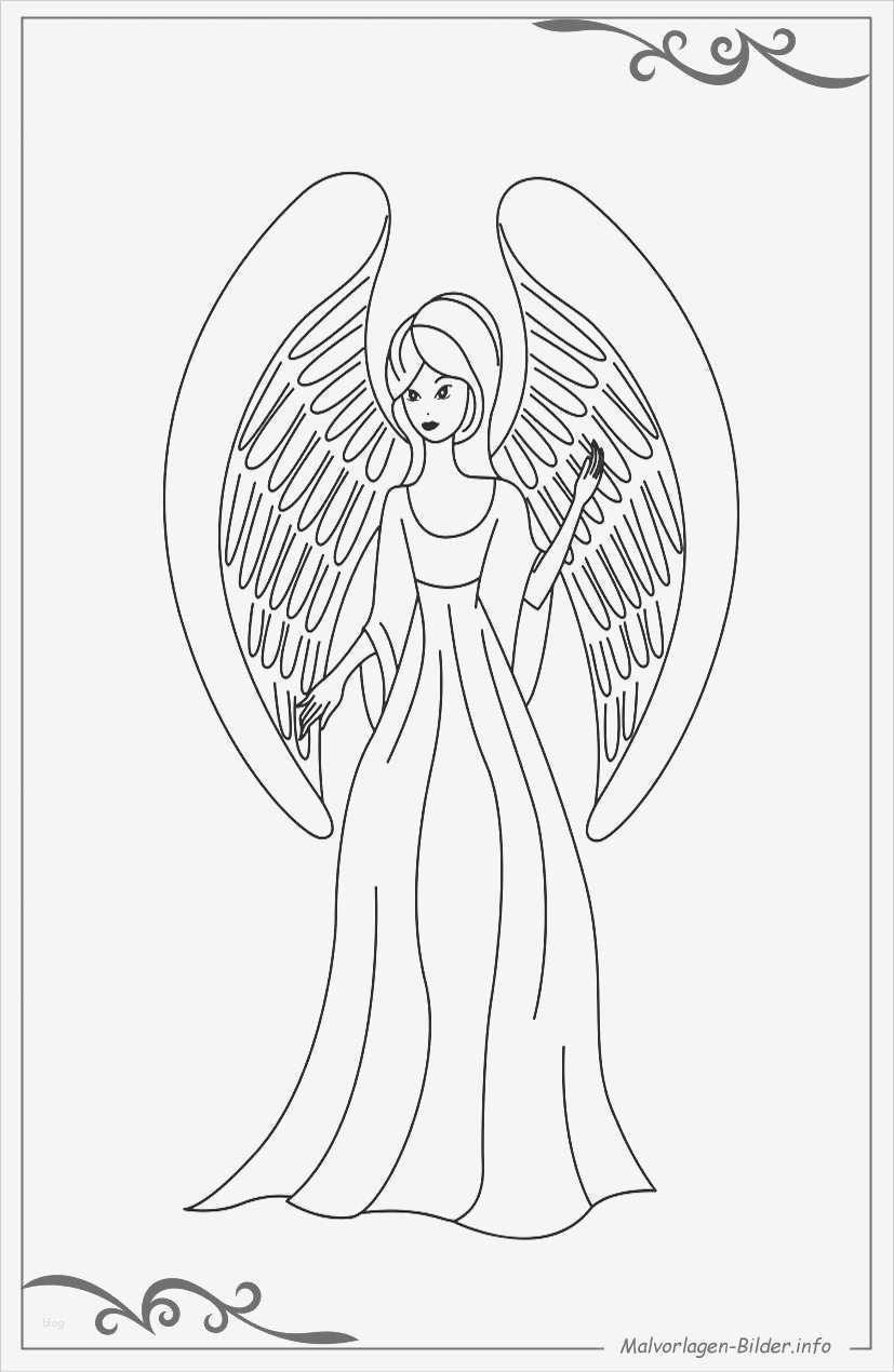Vorlage Engel Zum Aussägen Schön Engel Malvorlagen Und