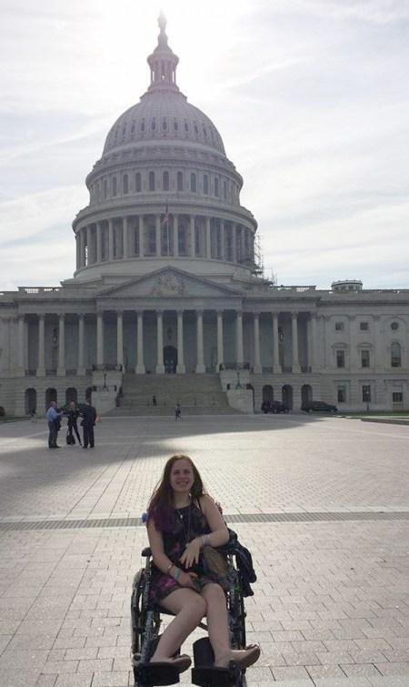 Photo courtesy Miracle for JustinaJustina Pelletier goes to Washington.
