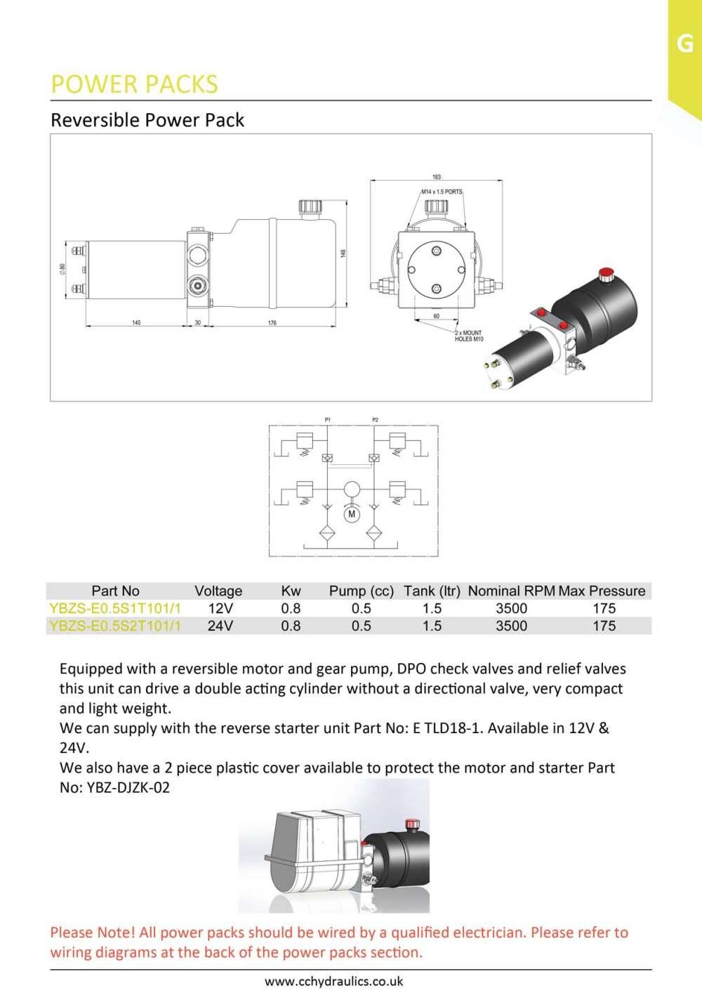 medium resolution of reversible power pack
