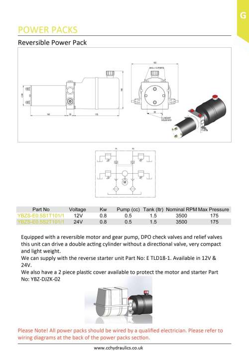 small resolution of reversible power pack