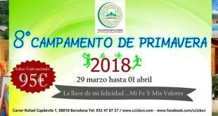 8º CAMPAMENTO DE PRIMAVERA.