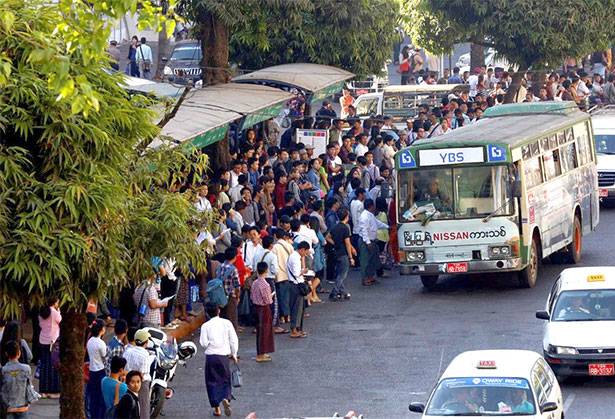 Yangon to receive much needed new bus stops | CCI France Myanmar