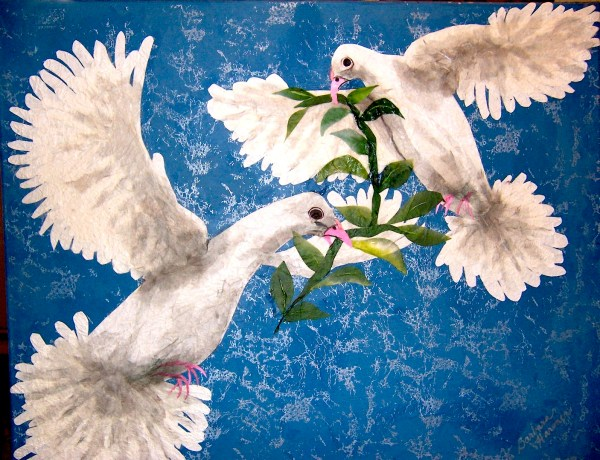 Loves Doves White Peace Dove