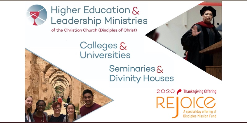 The Thanksgiving offering blesses higher education ministries