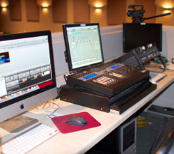 Jands Vista S1 Lighting Controller used in a church stage lighting system designed by CCI Solutions
