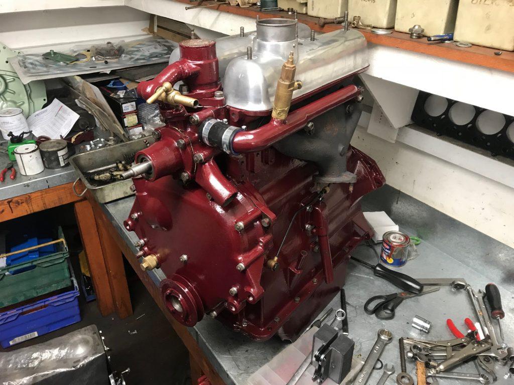 Riley Rm Engine Rebuild