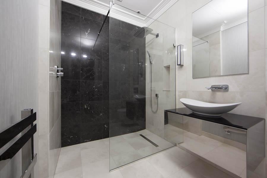 Wet Room Bathroom Design Ideas. Downstairs Wet Room