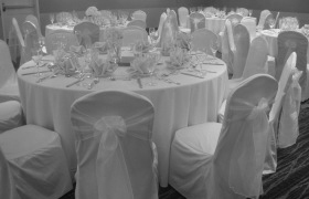 cheap black chair covers for sale toddler soft wedding linens dc virginia maryland ivory cover with white sash va
