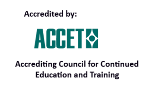 Accredited by ACCET