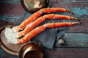 Seafood: crab