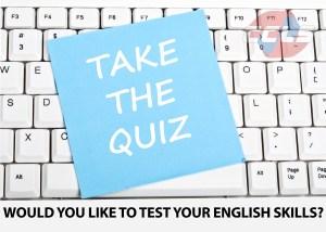 Test your English language skills