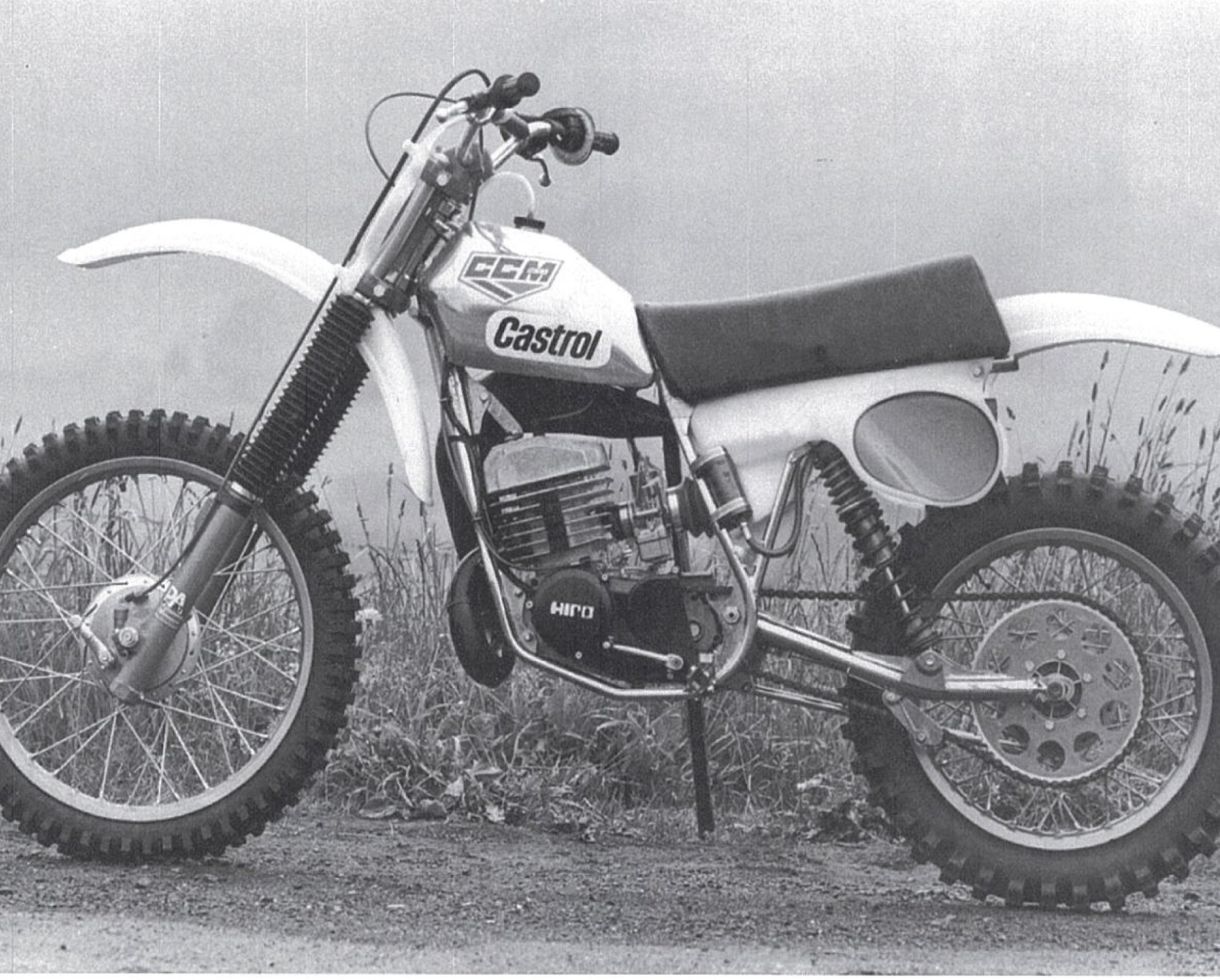 hight resolution of a two stroke
