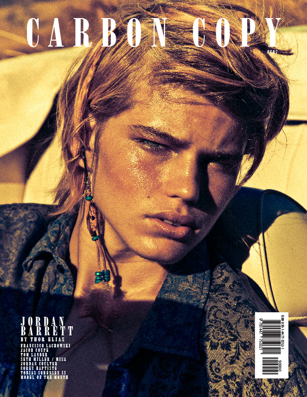 Jordan Barrett by Thor Elias