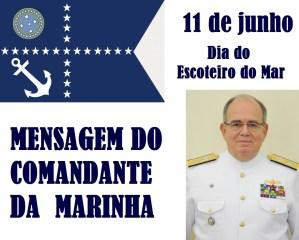 Mensagem do Comandante da Marinha aos Escoteiros do Mar