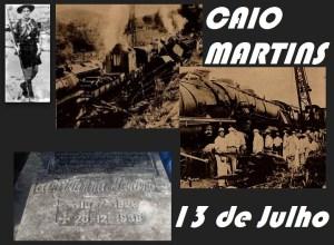 13 de Julho – Nascimento de CAIO VIANA MARTINS.