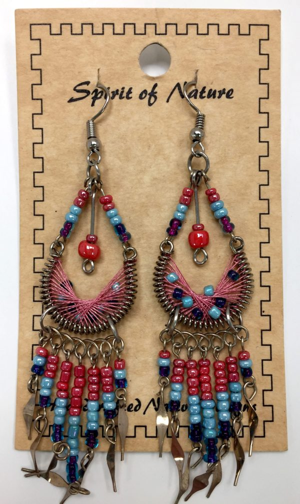 Spirit of Nature Handcrafted Native Design Earring