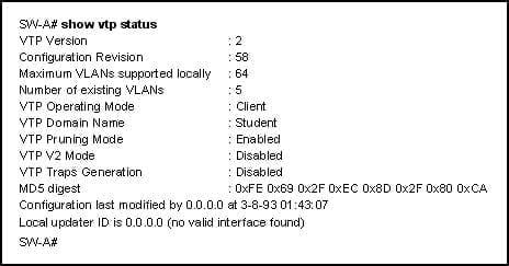 CCNA3 v6.0 Final Exam C 001