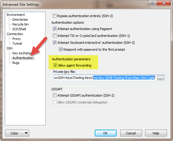 SSH Hopping using SSH Agent Forwarding
