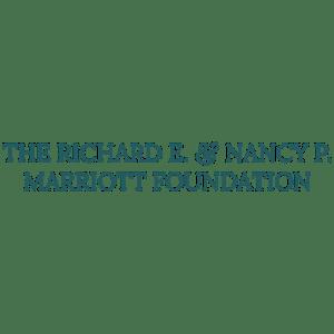 The Richard E & Nancy P Marriott Foundation logo