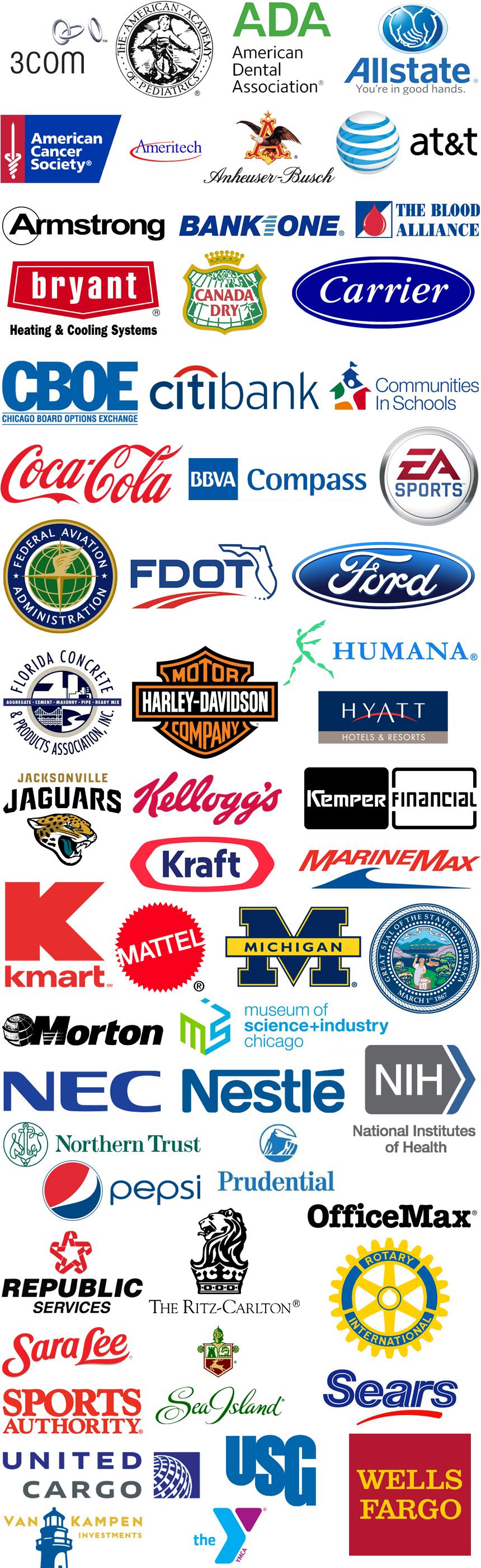 CCOM Client Logos Layout