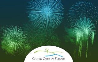 Feu d'artifice Charny Orée de Puisaye