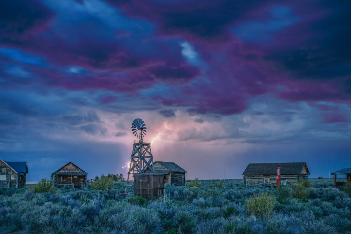 Night Sky at Fort Rock Photo Workshop 2021