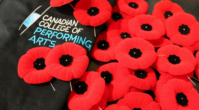 CCPA Remembrance Day Tribute