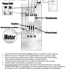 1 Phase Contactor With Overload Wiring Diagram 4 Channel Heating Magnetic Starters