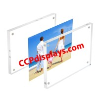 """Acrylic Magnetic Sign Holder - 4"""" x 6"""""""