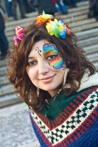 Greta Zanardelli, Faces of Venice, Venice Carnevale 2011