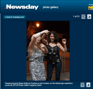 Torches, Newburgh on Newsday