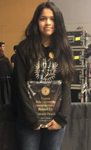 Yami Nieves, 2nd Place on site art