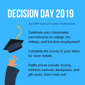 Don't Miss Decision Day!