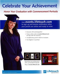 How to order graduation candid shots