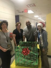 CMS Administrators bearing gifts