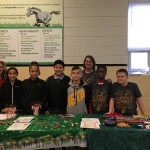 Beta Club selling scarves