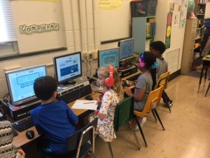 3rd Grade students on Dreambox