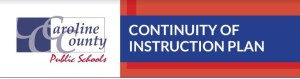 CCPS Logo, Continuity of Instruction Logo