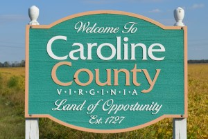 Welcome to Caroline County  sign