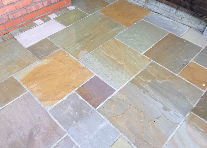 Patio cleaning and restoration from CCPW in Liverpool