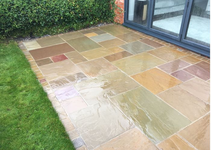 Patio cleaning and restoration from CCPW in Bootle