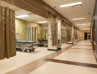 Parkland Hospital's sustainability with rubber floors