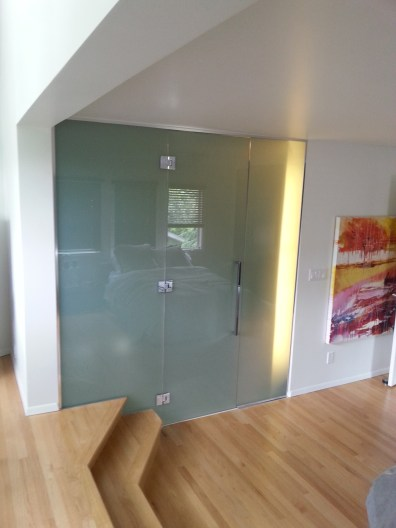 Glass Door after renovation