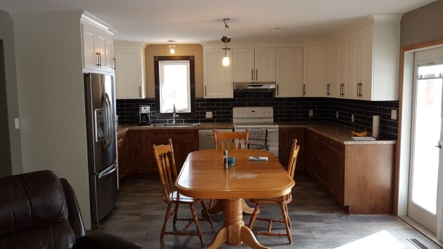 Completed Gull Lake kitchen renovation