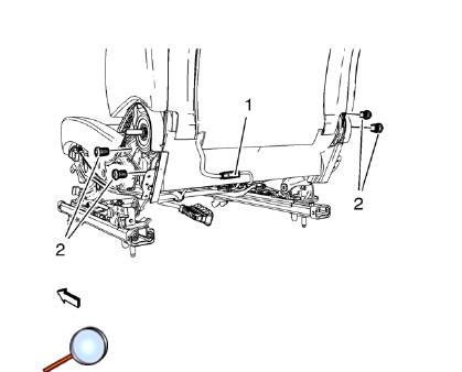 Chevrolet Cruze Repair Manual: Front Seat Cushion Cover