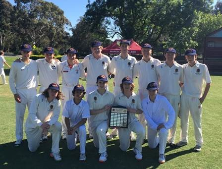 Marist Cricket Team 2019