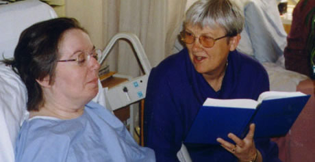 pastoral care in a hospital