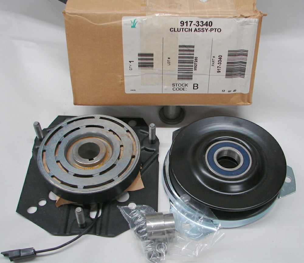 medium resolution of new oem warner front electric complete pto assembly w spacer p n 717 3340 use 917 3340