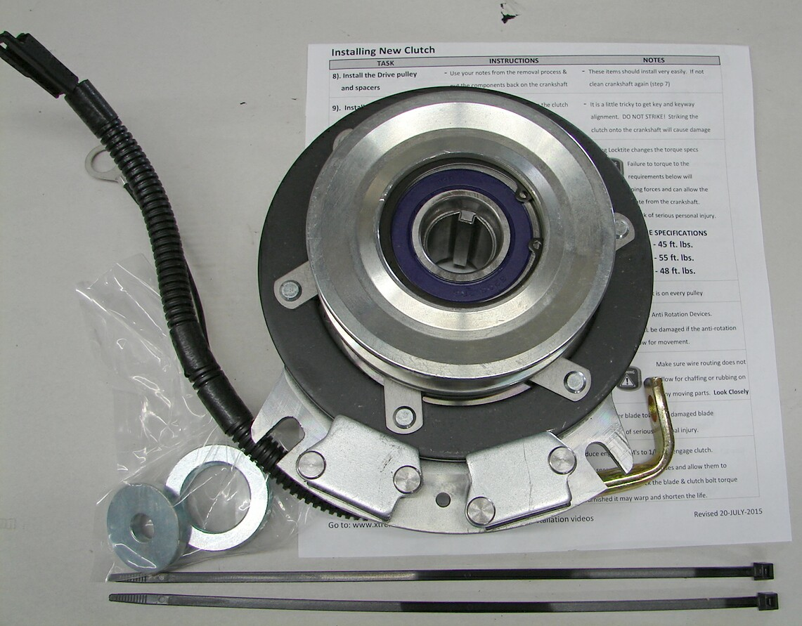 hight resolution of new aftermarket replacement super heavy duty front electric pto assembly